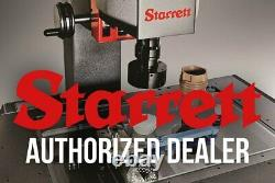 Starrett 3908 Series 0 to 0.008 SAE Dial Test Indicator w Dovetail Mount