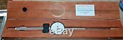 Starrett 6 Dial Indicator Gage 656-6041 Machinist with Original Wooden Box