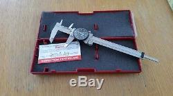 Starrett 6 inch Dial Caliper with Case