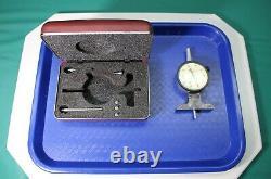 Starrett #644-441 Depth Dial Indicator. 001 Machinist VG Condition CNC #423