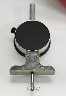 Starrett 644J Dial Depth Gauge with Case, 0 3 Range