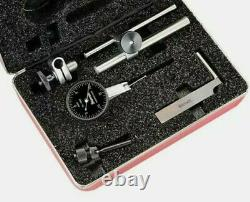 Starrett 64610 B709ACZ. 030 0-15-0 BF Dial Test Indicator withAccessories