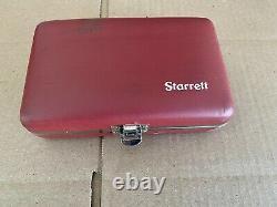 Starrett 650 Back Plunger Dial Test Indicator Set