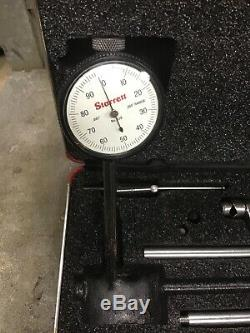Starrett 650 Dial Indicator. 001 Grads