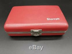 Starrett 650A1Z 650 0.200 SAE Dial Back Plunger Indicator MISSING 2 PIECES