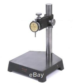 Starrett 653 Comparator Stand with John Bull 2F Dial Indicator 0.5 Range 0.0005