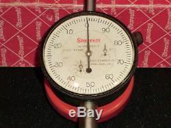 Starrett 655-3041-S Dial Indicator, 3.000 Measuring Range. 001 Graduation