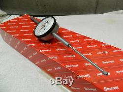 Starrett 655-3041J 0-3 Inch Dial Indicator Vintage Tool Super Smooth Made In USA