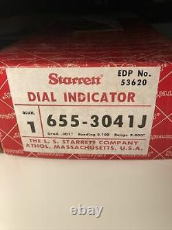 Starrett 655-3041J Dial Indicator