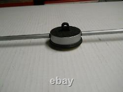 Starrett #655-5081 Metric Long Range Dial Indicator 0-125mm used ON SALE