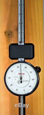 Starrett 656-12041 Long Range Dial Indicator in Wood Case