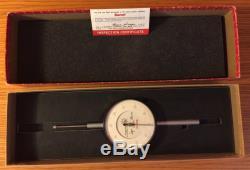 Starrett 656-2041J Dial Indicator, 2.000 Measuring Range
