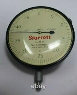 Starrett 656-231 Dial Indicator with original box / Jeweled Bearing