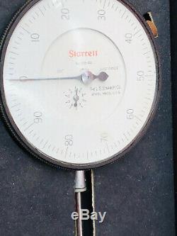 Starrett 656-441J Dial Indicator 656441J 1.000 Range, 0-100.001 Graduation