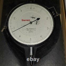 Starrett 656-511J 656 Series 0 to 0.200 SAE Dial Indicator