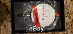 Starrett 656-517J Dial Indicator 3-5/8.400 Range. 0001 0-10-0 Dial New USA