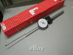 Starrett 656-6041J Dial Indicator. 001 Graduation, 6.000 Measuring Range