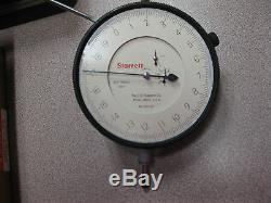 Starrett 656-617.0001.400 Range Machinist Dial Indicator Tool