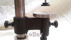 Starrett 656-617 drop dial indicator on Starrett #652 Bench Gage Base-Excellent