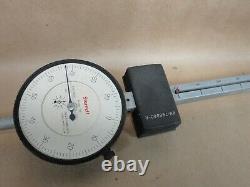 Starrett 656-7041 Dial Indicator 0-7.000 Long Range 0-100.001 Grad