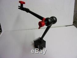 Starrett #657-2 Magnetic Base & Universal Indicator Holder slightly used