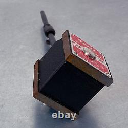 Starrett 657 Magnetic Base Holder with 711 Starrett Dial Indicator Wooden Box