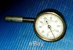 Starrett 657 Pivot post Magnetic Base & 196 Dial Indicator withextension & 3 tips