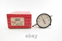 Starrett 657AA Magnetic Base Indicator Holder & Starrett 655-241J Dial Indicator