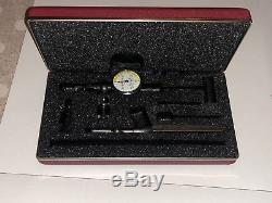 Starrett 657B Magnetic Base and Post With 711FS Dial Indicator Set