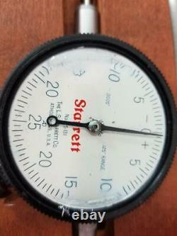 Starrett 657E Magnetic Base Indicator with 25-131 Dial Indicator (AM1056233)