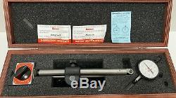 Starrett 659BZ Mag Base and Dial Indicator Set BNIB