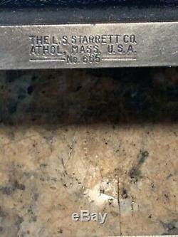 Starrett 665 DIAL INDICATOR 8-1/2 BASE PRECISION FLAT C723