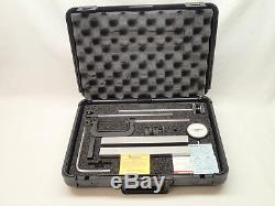 Starrett 665JZ Inspection Set Outfit 25-131 Dial Indicator Nice