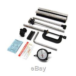 Starrett 665JZ Inspection Set with 25-131J AGD Dial Indicator Holder 665 (AS/IS)