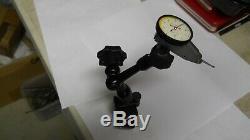 Starrett #708 Dial Test Indicator & #660 Mini Magnetic Base slightly used