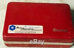 Starrett 708ACZ Dial Test Indicator With Attachments