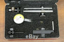Starrett 709-b 709b Dial Test Indicator. 0005 WithCase