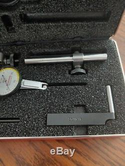Starrett 709A. 0005 Dial Test Indicator Set With Case no box