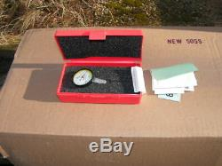 Starrett 709AZ Dial Test Indicator with Dovetail Mount. 030 Range. 0005 Grad
