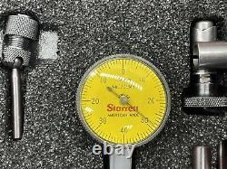 Starrett 709MACZ Dial Test Indicator Set Brand New With Attachments And Case