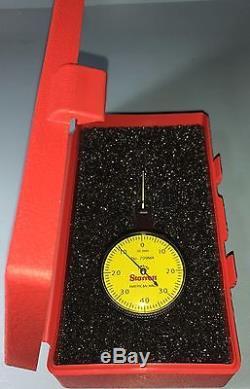 Starrett 709ma Metric Dial Test Indicator. 01mm Grads, 0-40-0 Dial. 8mm Range