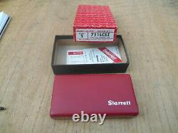 Starrett 711 Last Word Dial Indicator With Case. 0005 USA Made