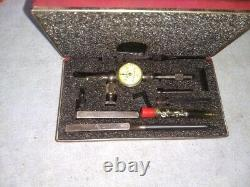 Starrett 711 Last Word Dial Indicator With Case. 001 Machinist Tool
