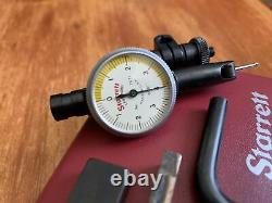Starrett 711 T-1 Dial Indicator Last Word with Case Complete Set. 0001