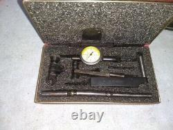 Starrett 711-T1 Last Word Dial Indicator With Case. 0001 Machinist Tool