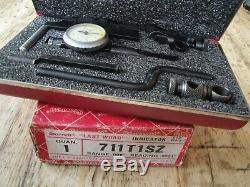 Starrett 711-T1SZ Last Word Dial Indicator Kit. 0001 Machinist