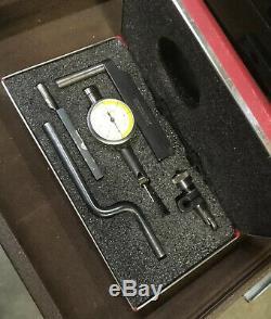 Starrett 711-T1SZ Last Word Dial Test Indicator. 0001 Case Gage Machinist Inspe