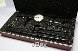 Starrett 711GCSZ Last Word Dial Test Indicator with Attachments White in Case