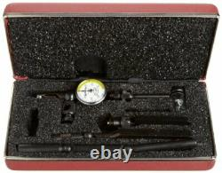 Starrett 711MGCSZ Last Word Dial Test Indicator with Attachments, White Dial
