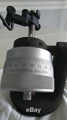 Starrett 716 DIAL INDICATOR TESTER 0-1.0001 &. 00005